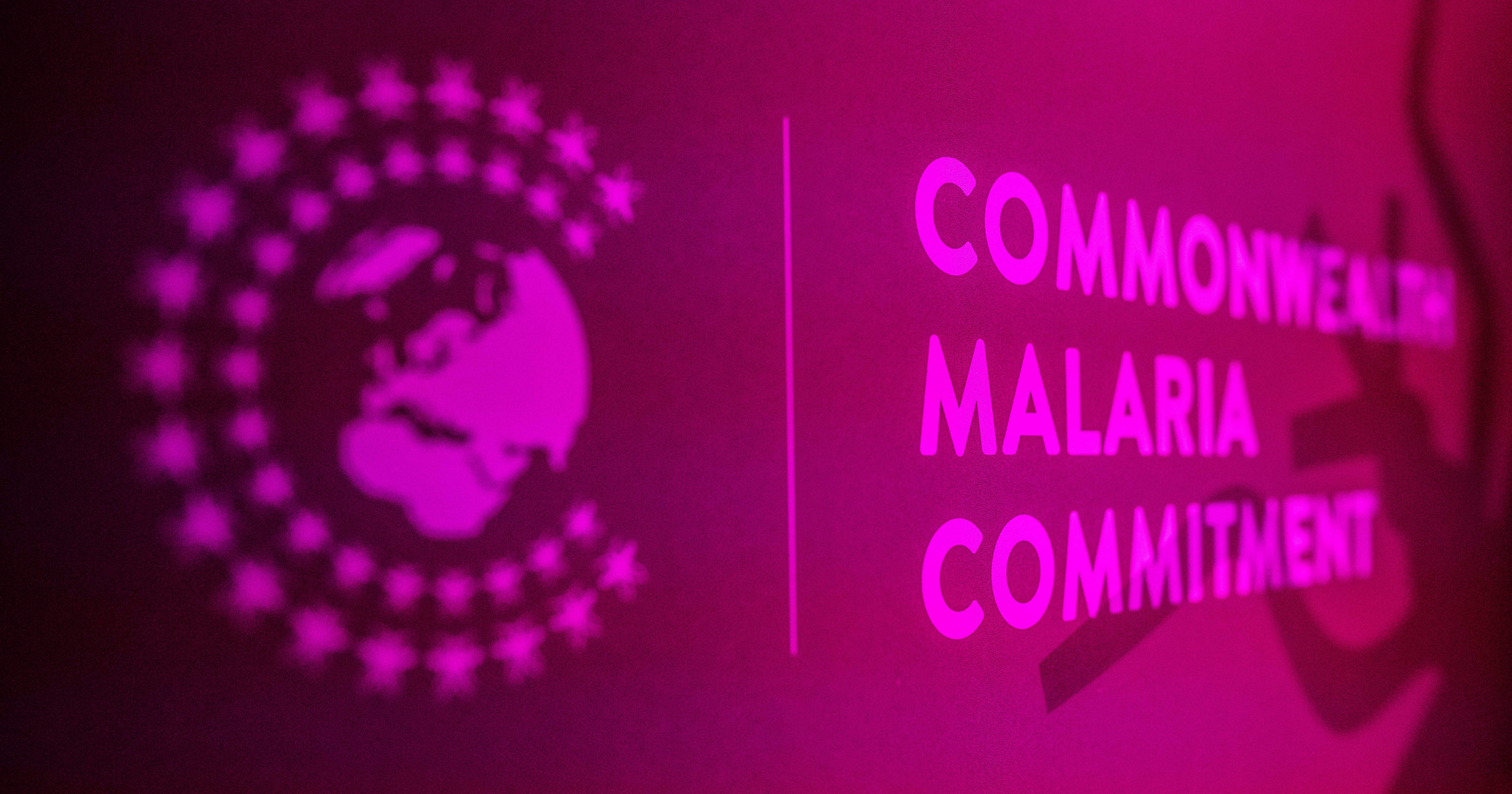 Commonwealth malaria commitment banner